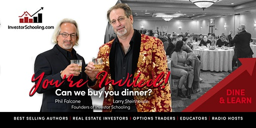 Free Dinner & Seminar - Real Estate Investing & Stock Options