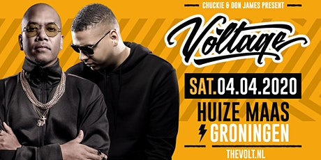 Chuckie & Don James present: Voltage tickets