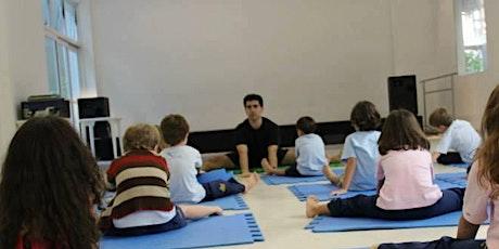 Formação em Yoga Educativa- Intensivo Yoga p/ Crianças e Adolescentes na Escola - de 23 a 26 de Abril em Almada,  Portugal tickets