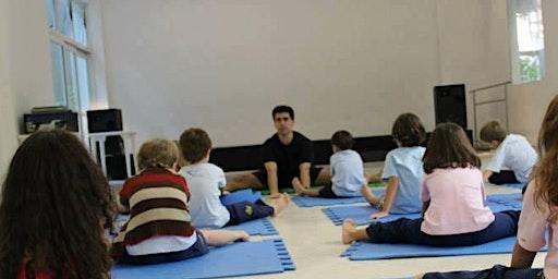 Formação em Yoga Educativa- Intensivo Yoga p/ Crianças e Adolescentes na Escola - de 23 a 26 de Abril em Almada,  Portugal
