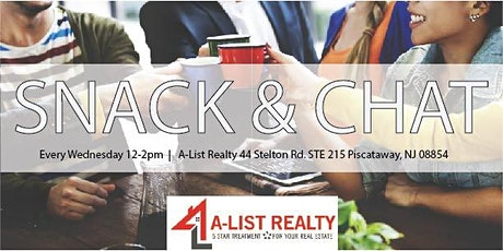 A-List Realty - Snack & Chat tickets