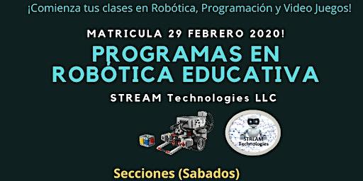 Marticula Programas de STREAM Technologies
