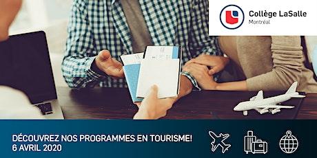 Petit-Déjeuner d'informations sur les programmes en Tourisme tickets