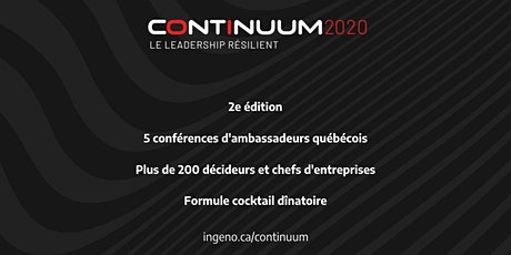 CONTINUUM 2020 - LE LEADERSHIP RÉSILIENT billets