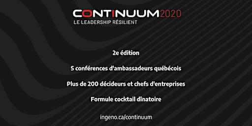 CONTINUUM 2020 - LE LEADERSHIP RÉSILIENT