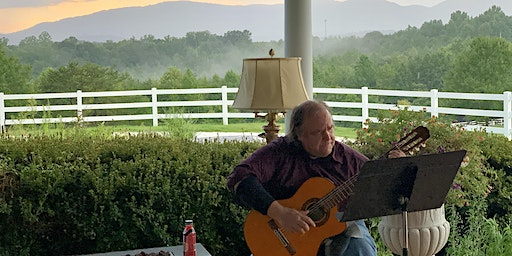 Wine on the Terrace with musician Paul Bowman