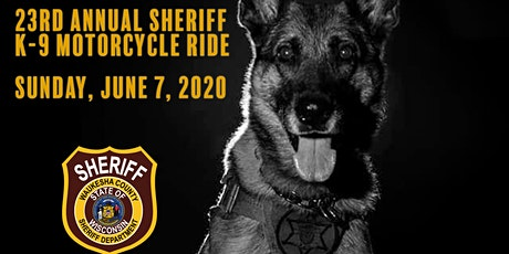 23rd Annual Sheriff K-9 Motorcycle Ride tickets