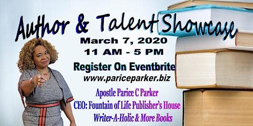 Author & Talent Showcase ATL