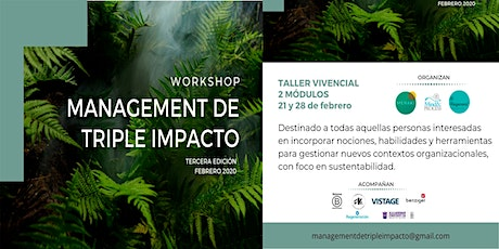 Management de Triple Impacto - Workshop - entradas