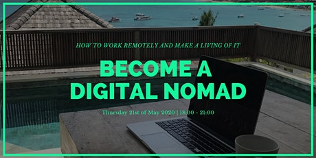 Become a Digital Nomad: How to work remotely and make a living of it bilhetes