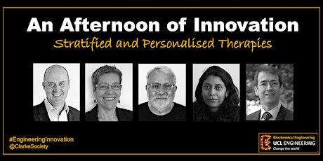 An Afternoon of Innovation - Stratified and Personalised Therapies tickets