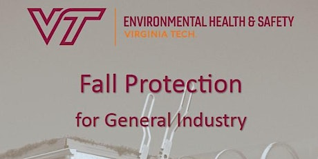Fall Protection in General Industry Train-the-Trainer tickets