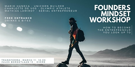 Workshop: Become the entrepreneur you look up to! billets