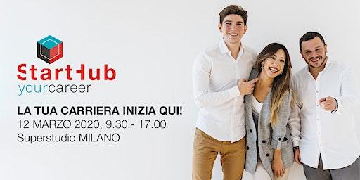 Start Hub Your Career Milano - La tua carriera inizia qui!