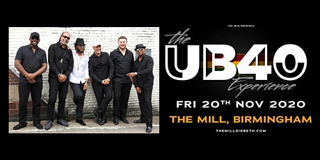 The UB40 Experience (The Mill, Birmingham) tickets