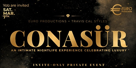 CONASUR - An Intimate Evening Celebrating Luxury tickets