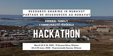 Hackathon:  Resource-sharing in Nunavut   Partage de ressources au Nunavut billets