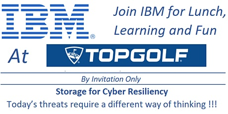 IBM Storage for Cyber Resiliency tickets
