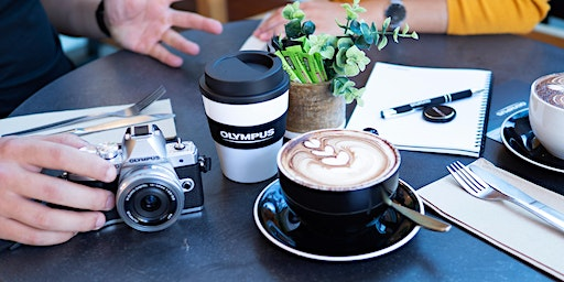 Coffee with Olympus, Hunt's Photo, South Portland