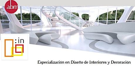 Charla - Master de Especialización en Diseño Interior & Decoración entradas
