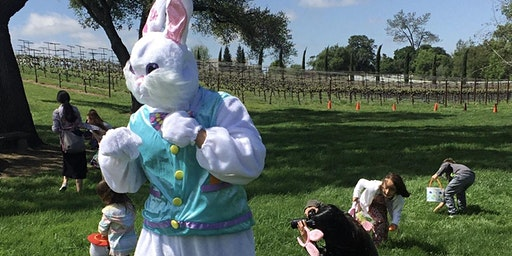 Easter Egg Hunt with the Dono Easter Bunny