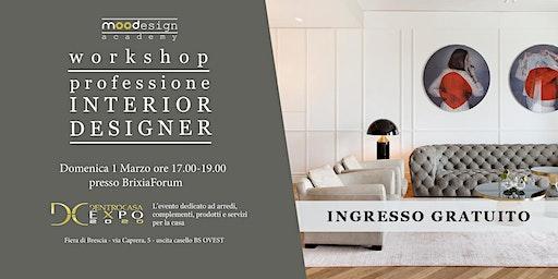 workshop PROFESSIONE INTERIOR DESIGNER