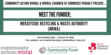 Meet The Funder: Merseyside Recycling and Waste Authority (MRWA) tickets