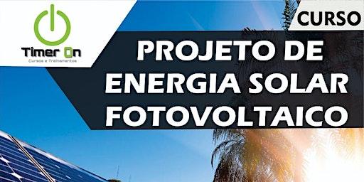 Projeto de Energia Solar Fotovoltaico