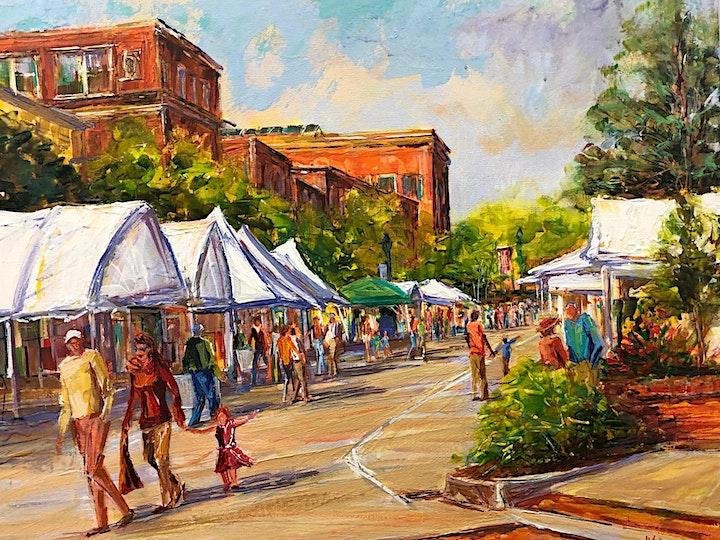 Art On Main: The Virtual Fine Art and Fine Craft Fair image