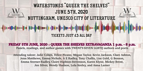 "Waterstones ""Queer the Shelves"" 5th June, 2020 tickets"