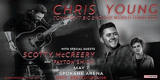 Chris Young - Town Ain't Big Enough Tour