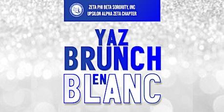 YAZ Brunch en Blanc tickets