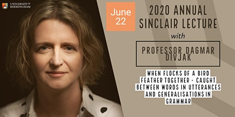 2020 Annual Sinclair Lecture: When Flocks of a Bird Feather Together tickets