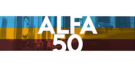 Alfa 50 tickets