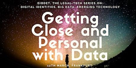 DIBDET: Data Categorisation and Data on the Blockchain tickets
