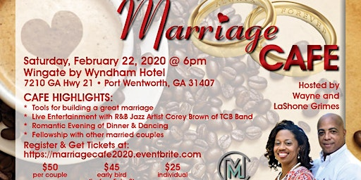 """Marriage Cafe: """"An Evening With Your Sweetheart"""""""