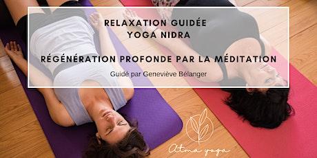 Yoga Nidra - Relaxation guidée billets