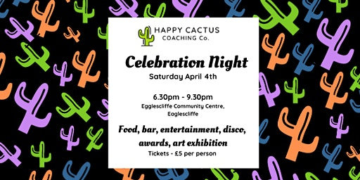 Happy Cactus Celebration Night