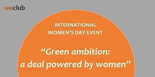 Green ambition: a deal powered by women