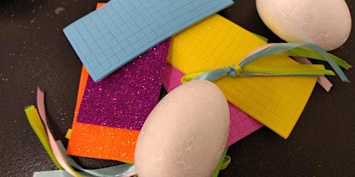 Easter Egg Mosaic Baubles