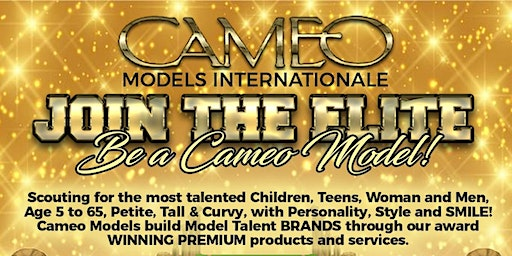 Cameo Models Internationale Auditions