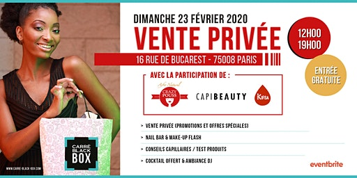 BRUNCH / VENTE PRIVÉE CBBOX / CRAZY POUSS & CAPIBEAUTY
