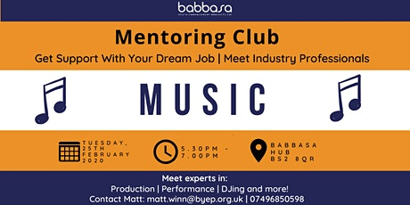 Mentoring Club - Music + Me tickets