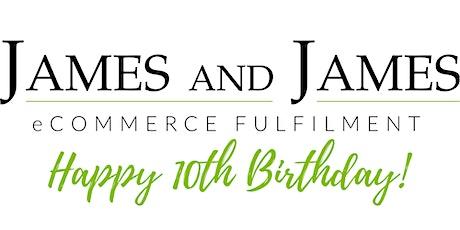 James and James Staff Dinner (10th Birthday Celebration) tickets