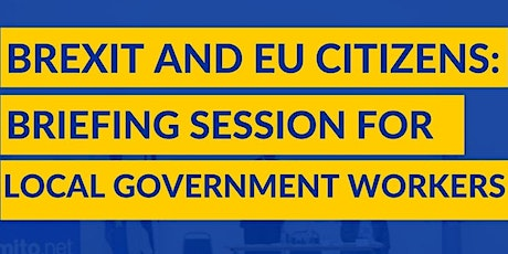 Brexit & EU Citizens: briefing session for advisers in Galashiels tickets