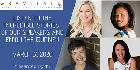 Gravitate Rising Tides Speaker Series presented by TD Wealth tickets