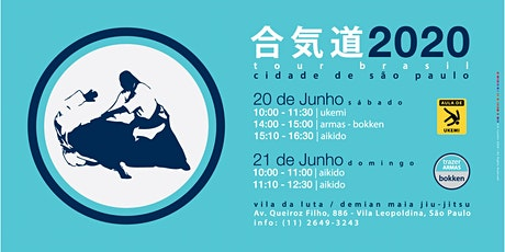 Aikido Donovan Waite Sensei - São Paulo 2020 ingressos