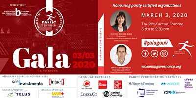 Women in Governance's Annual Recognition Gala 2020 / Gala de reconnaissance annuel de La Gouvernance au Féminin 2020