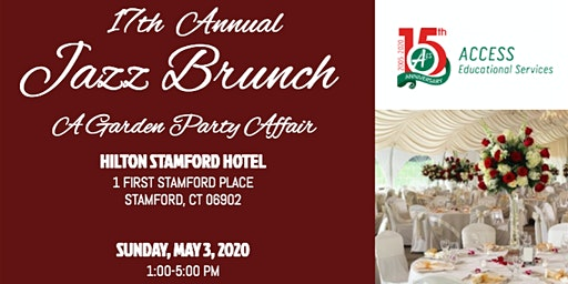"17th Annual Jazz Brunch: ""A Garden Party Affair"""