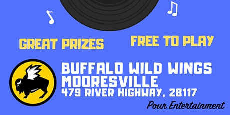 MINGO! at BUFFALO WILD WINGS - Mooresville tickets